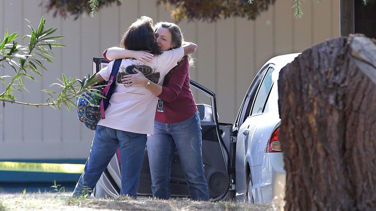 Gunman kills 4, injures 2 children in shootings at several places in Northern California, including a school — Los Angeles Times