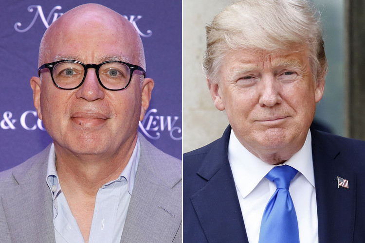 Fire & Fury Author Michael Wolff Claims Trump Is Having an Affair: 'Read Between the Lines' — People