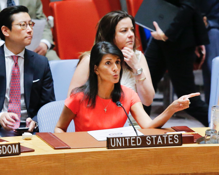 Nikki Haley: Trump's velvet hammer at the UN — New York Post