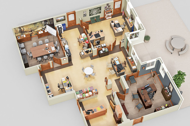 7 incredible 3d floor plans of your favorite tv shows for 3d planner