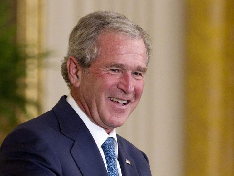 George Bush takes down Trump: 'Bigotry seems emboldened' — The Independent