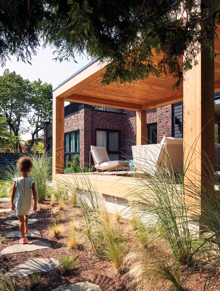 A Portland Family Renovates an Unusual Brick Home in a Sea of Craftsmen Houses — Dwell