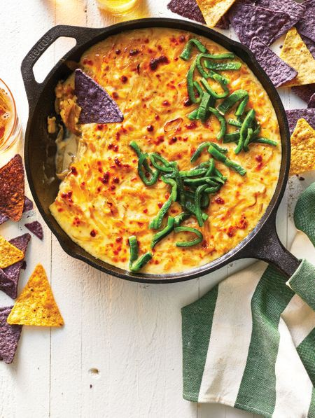Former 'Top Chef' Star Claudette Zepeda's Warm French Onion & Queso Fundido Dip is a Must for Your Game Day Table