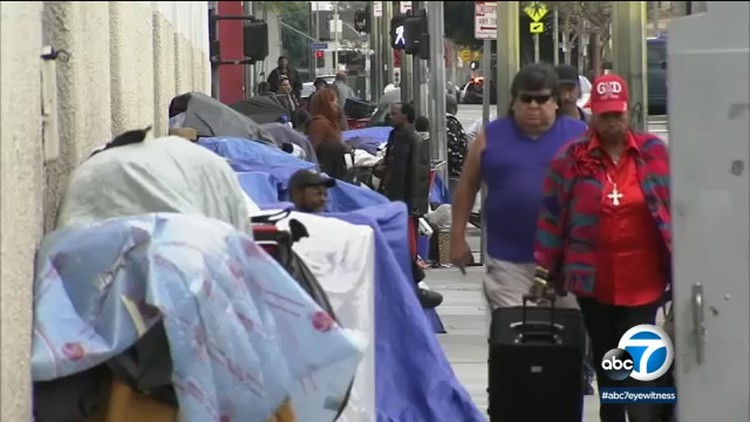 LA homelessness authority calls for government to treat homelessness crisis with same urgency as natural disaster — ABC7 Los Angeles