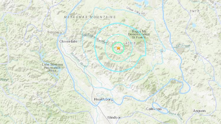 4.1 magnitude earthquake strikes Sonoma County — ABC7 Bay Area
