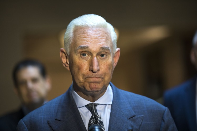 Roger Stone Sought Information on Clinton from Assange, Emails Show — The Wall Street Journal