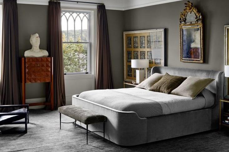 Bedroom Colour Ideas Silver