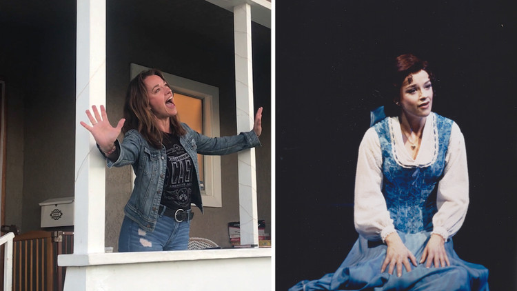 Broadway star and former Disney princess performs porch concerts in Long Beach — ABC7 Los Angeles