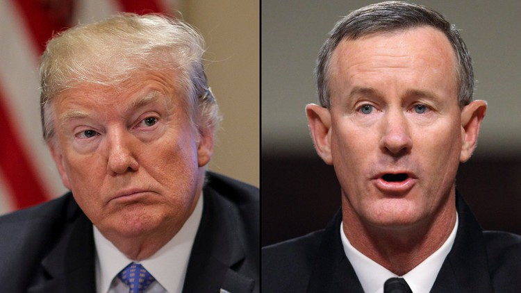 McRaven resigned from Pentagon board days after blistering op-ed on Trump — CNN Politics