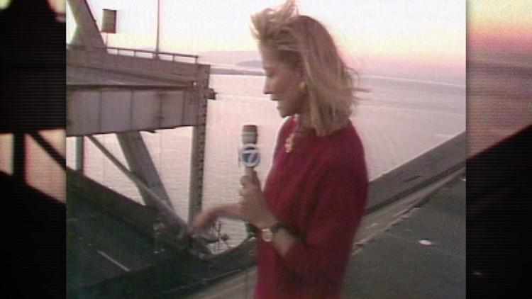 ABC7's Leslie Brinkley remembers driving across the Bay Bridge during Loma Prieta earthquake