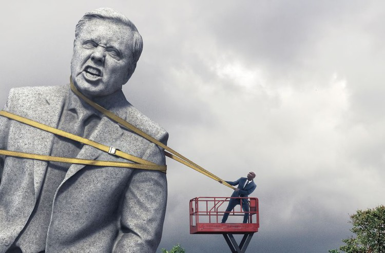 Inside the Fight to Topple Lindsey Graham—And Trump's Senate Majority — Mother Jones