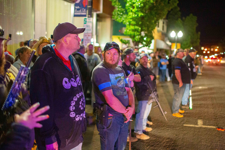 In Klamath Falls, Oregon, victory declared over antifa, which never showed up — NBC News