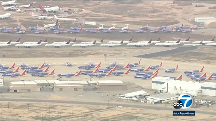 'Worst disaster in the history of aviation': LAX, Burbank, Long Beach airports hit especially hard by COVID-19 — ABC7 Los Angeles