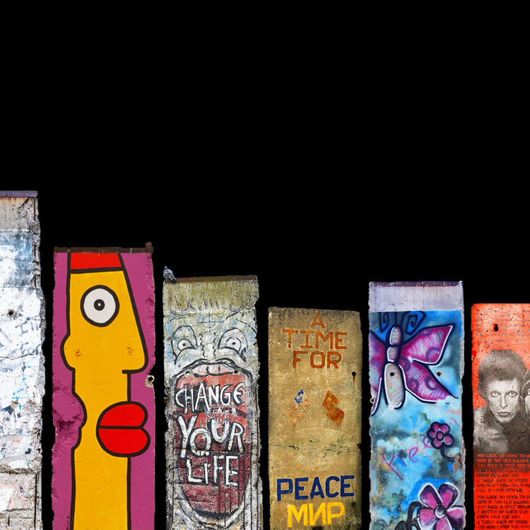 The Berlin Wall fell 30 years ago. Where did it go?