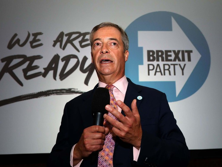 Nigel Farage and Brexit party vote against EU resolution to stop Russian election meddling — The Independent