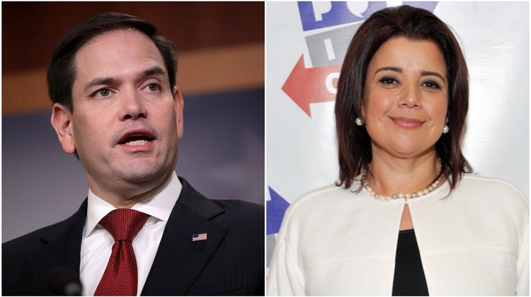 Ana Navarro Blasts Marco Rubio For Calling Outrage Over 'Go Back' Tweet 'Self-Righteous' — HuffPost