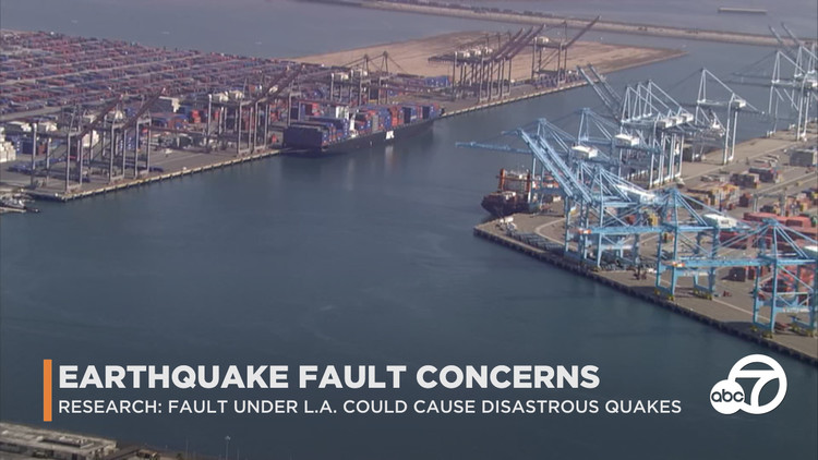 Eyewitness This: Fault recently found active underneath LA, Long Beach could cause destructive earthquakes