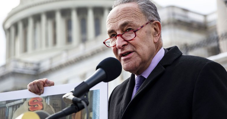 Schumer and Sanders call for restricting corporate share buybacks - CNBC
