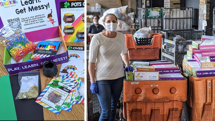 Long Beach mom's subscription box keeps kids educated during COVID-19 — ABC7 Los Angeles