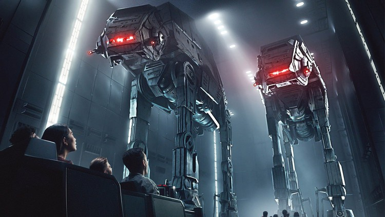"Disney's New ""Star Wars"" Ride Wins Raves, Breaks Down"