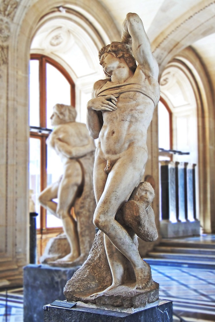 The History of Michelangelo's 'Dying Slave' + 'Rebellious Slave' Sculptures — My Modern Met