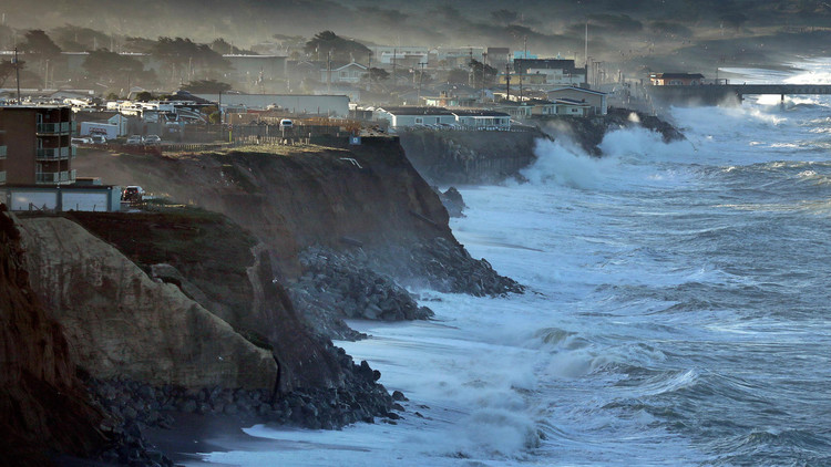The California coast is disappearing under the rising sea. Our choices are grim.