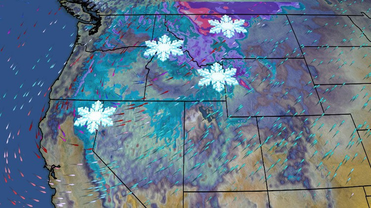 Weekend Blizzard May Be a September Benchmark Snowstorm in Montana, Dumping Over a Foot of Snow