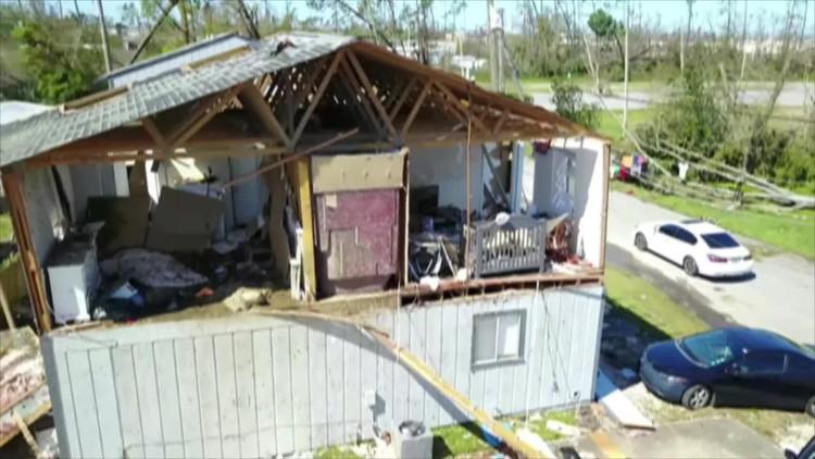 Hurricane Michael devastation in Panama City, Florida seen in drone video, photos — Fox News