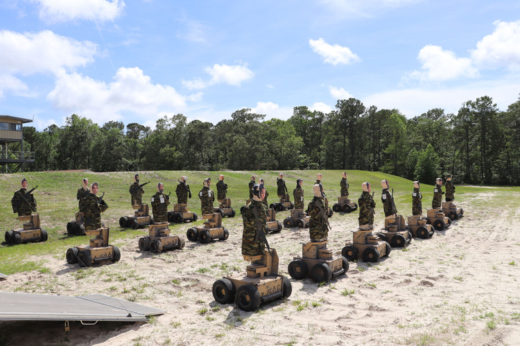 These Marines Are Becoming Crack Shots Thanks to Robot Targets that Move Like Humans