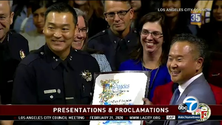 LAPD promotes first Korean American to deputy chief — ABC7 Los Angeles