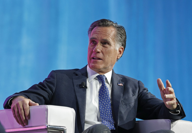 Romney disagrees with GOP congressman's conclusion on Trump's 'impeachable conduct' — CNN Politics
