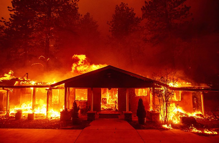Fighting Fires in Helltown, California — GQ