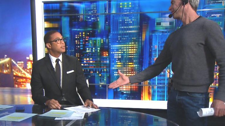 Lemon shows how he thinks Obama should've greeted Trump — CNN Politics