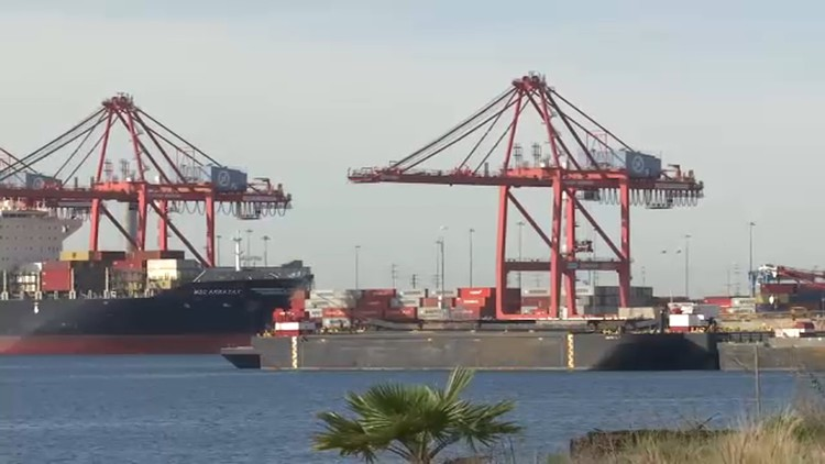 Coronavirus: Ports of LA and Long Beach on high alert — ABC7 Los Angeles