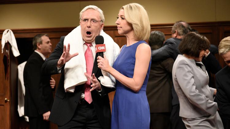 'SNL' goes inside the Kavanaugh postgame locker