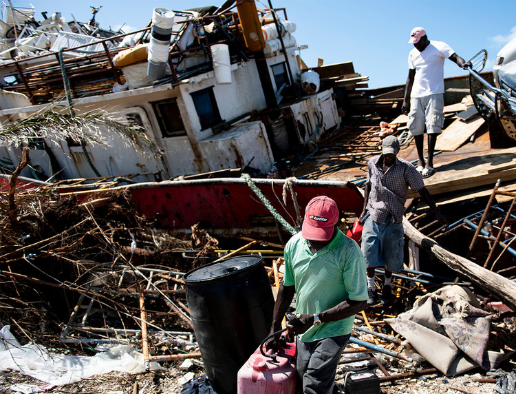 Hurricane Dorian, climate change, and disasters' unequal burden on island nations