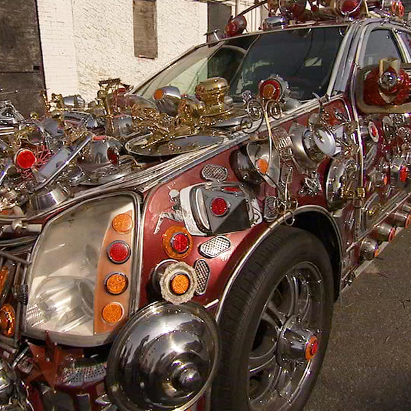This Man's Decorated Cars Turn Heads!