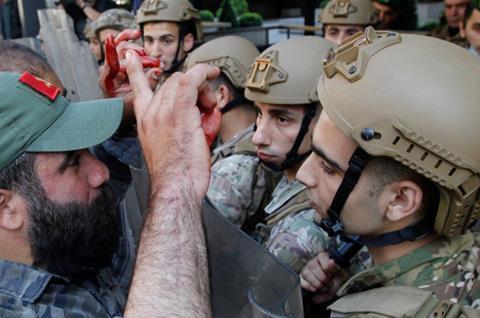 Lebanese army denies beating, electrocuting detained protesters — Al Jazeera