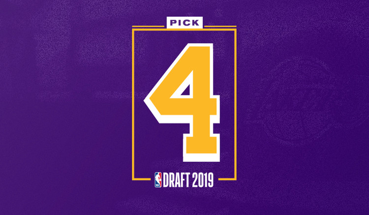 Lakers Jump to 4th-Overall Pick at 2019 Draft — Los Angeles Lakers