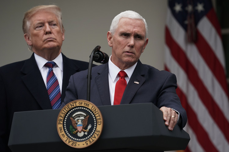 Mike Pence Once Criticized Barack Obama for the Exact Same Thing Donald Trump is Doing During Government Shutdown — Newsweek