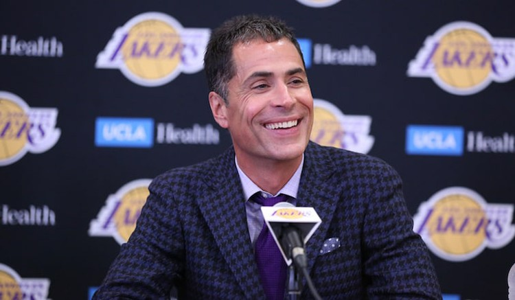 Pelinka Weighs in on Lakers' Lottery Jump — Los Angeles Lakers