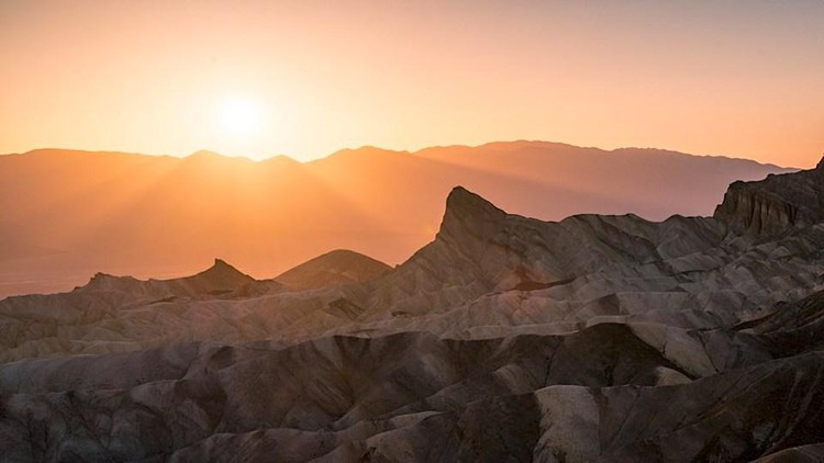 Sunset Campground At Death Valley National Park Now Open