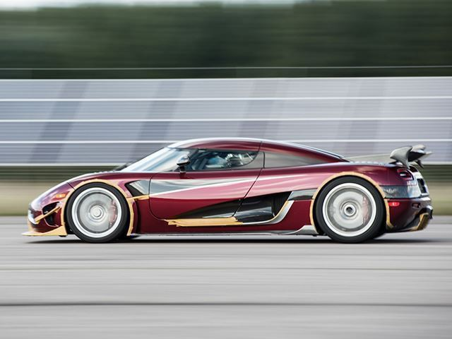 Watch The Koenigsegg Agera RS Hit 284 MPH From The Driver's Seat
