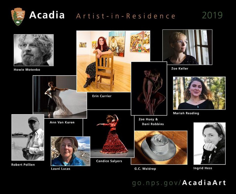 Acadia National Park Hosts 12 Artists-in-Residence In 2019