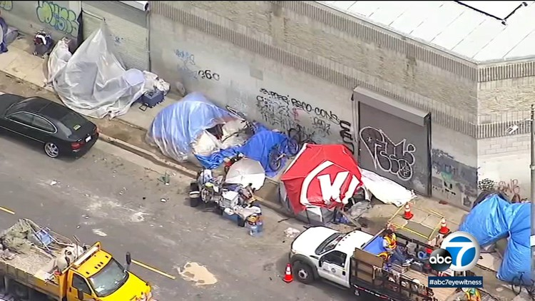 Signs of homelessness in Los Angeles growing worse during coronavirus pandemic — ABC7 Los Angeles