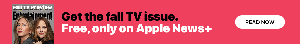 Get Entertainment Weekly's fall TV issue free on Apple News+